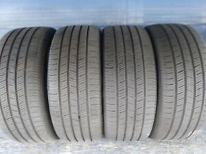 4 Continental Pro Contact Ssr Rft 225 45 18 Bmw With 8 32nd Tread Left 91 V