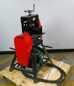 New Large Cable Wire Stripping Machine Copper Cable Stripper up To 4 In diameter