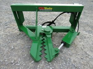 John Deere Front End Tractor Loader Tree And Post Puller Attachment Ship 179