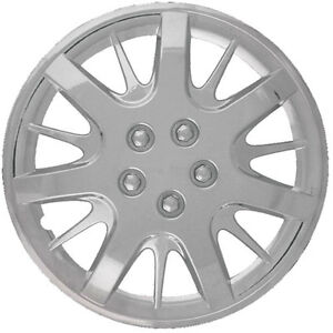 2000 2011 Chevrolet Impala 16 Silver Wheel Covers 4pcs