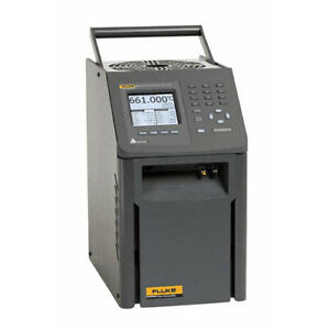Fluke Calibration 9173 d 156 Field Dry well Metrology Temp Calibrator