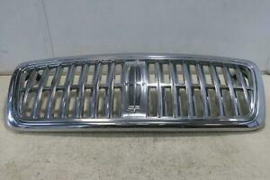 2007 2008 Lincoln Lt Grille Hood Mounted Chrome Surround Oem
