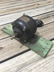Vintage Antique Western Electric 110v 60 Ac Motor 1725 Rpm Pat d Jan 24 1905 Usa