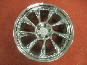 20 Lorinser Lm6 2 Piece Wheel Rim Chrome 10x20 Et 38 5x112 Single Only Ronal