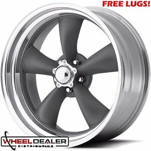 4 15x8 American Racing Vn215 Torq Thrust Ii Wheels Classic Ford Mopar 5x4 50