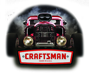 Craftsman Tool Sticker Smokin Rod Sexy Decal Mechanic Toolbox Sign Chest Usa