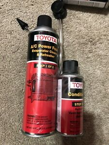 Lot Of 6 Oem New Toyota A C Foam Cleaner Two Step And Hoses
