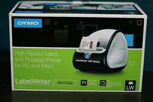 Brand New Dymo Labelwriter 450 Turbo Desktop Label Printer 1752265