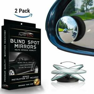 Blind Spot Mirror For Cars Suv Trucks Universal 360 Degree Rear Panoramic Dr