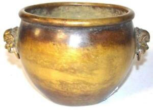Fine Antique Chinese Bronze Censer 19th C