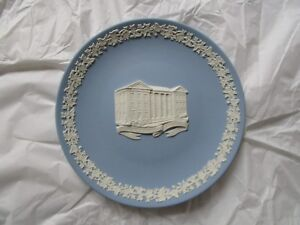 Rare Wedgwood William Jewell College Commemorative Plate 702 1000 Blue Jasper