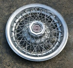 Cadillac E G Classic Edition Continental Kit 14 Wire Spoke Hubcap Wheel Cover