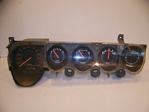 1970 Plymouth Barracuda Dodge Challenger Instrument Cluster Oem 71 72 73 74