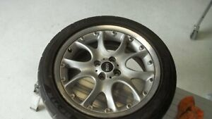 02 15 Mini Cooper 17 Wheels Oem Used 2 piece Web Spoke R98 With New Tires