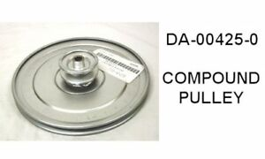 Da 00425 0 Pulley 9 Compound W Bushing Cissell Idc Dryer