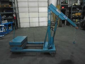 Ruger Industries Hp 1500r Ruger Counterbalance Floor Crane 1 500 Lbs