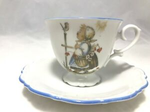 Vintage Hummel West Germany Tea Cup And Saucer Sister Bertha