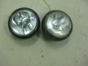 Vintage Headlights For Rat Rod Pickup Or Hot Rod 6 1 2 In Diameter