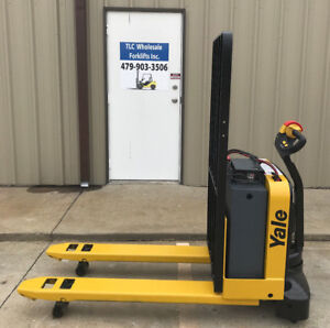 2014 Yale Electric Pallet Jack Model Mpw050 Forklift Walkie Only 3650 Hours
