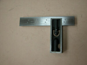 L s starrett Co No 13 Double Square 6 Sliding Combination Tee