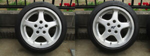Porsche Speedline Wheels Ruf 17 Inch