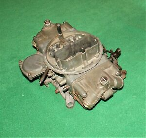 65 66 Chevelle Camaro 396 Big Block Holley 3310 Carburetor 780cfm 3878261 Eh