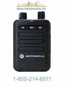 New Motorola Minitor Vi Vhf 143 174 Mhz 1 Channel Pager