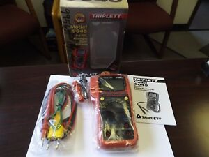 Wholesale Liquidation Triplett 9045 True Rms Autoranging Digital Multimeter Nos