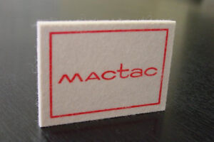 Mactac Fiber Felt Squeegee 2 Pc In Stock And Ready To Ship