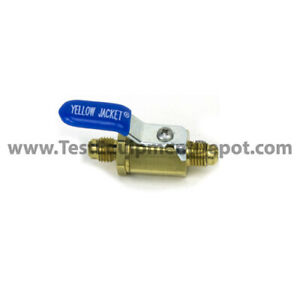 Yellow Jacket 93834 Ball Valve 1 4 Sae Male Flare X Male Flare