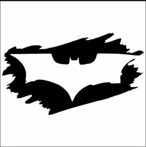Outline Only Batman Dark Knight Car Window bumper Die Cut Vinyl Decal Free Ship
