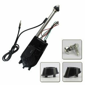 Car Electric Am Fm Radio 12v Power Antenna Mast Aerial Replacement Kit Universal