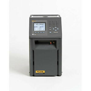 Fluke Calibration 9171 dw 156 Field Dry well Metrology Temp Calibrator