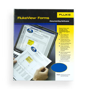 Fluke Fvf basic Fluke View Forms W Cable For Use W 180 Series Meters