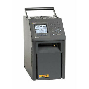 Fluke Calibration 9172 dw 156 Field Dry well Metrology Temp Calibrator