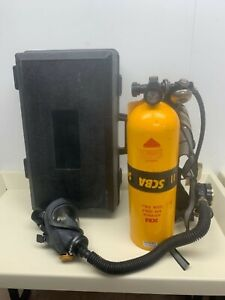 Scott Air pak 2 2 Scba Kit 2216 Psi With Full Face Mask With Carry Case