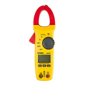 A w Sperry Dsa500a 5 function 9 range 400 ampere Digital Clamp Meter