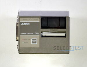 Leader 710 Thermal Printer For Dmm scope 100p Or 200 ref 267