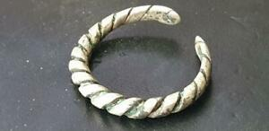 Viking Silver Twisted Ring 8th 9th Century Ad