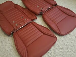 72 Datsun 240z New Seat Cover Set Rare Red