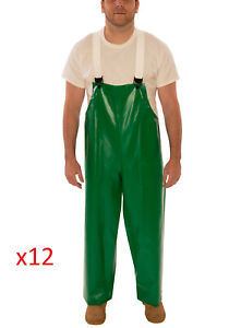 Bulk Wholesale Lot Of 12 Tingley Safetyflex Overalls Coveralls Safety 3xl Green