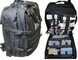 New Fully Stocked Stomp Medical First Aid Kit Back Pack