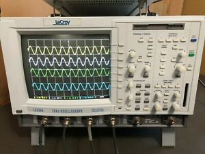 Lecroy Lc534a 4ch 1ghz Digital Oscilloscope W 4 Probes Us Power Cord Lc534