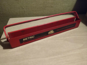 Mac Tools Metric Socket Tray Xt37y Side Tool Box Chest Tote Snap On Matco Impact