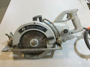 Rockwell 7 1 2 Worm Drive Circular Saw Model 568 Type 3 Heavy Duty Skil Saw