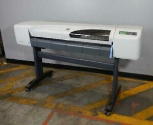 Hp Designjet 510 Model Ch337a 42 Wide Format Printer Plotter