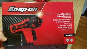 New 2018 Snap On 14 4 V Microlithium Cordless Screwdriver Gun Cts761adb