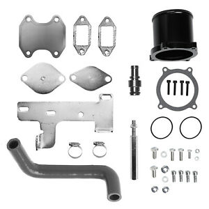 Cummins Egr Cooler Kit Throttle Valve Delete Kit For 2010 2016 Dodge Ram 6 7l