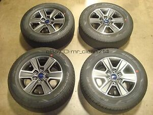 18 15 18 Ford F 150 Lariat Wheels Rims Tires Expedition Oem Factory F150 Xlt 1