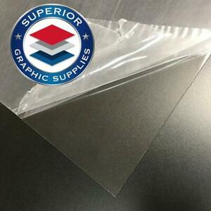 Petg Acid Free Clear Plastic Sheet 48 x96 20mil Clear 1 Flexible Strong